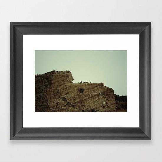 Crazy Horse Memorial Framed Art Print