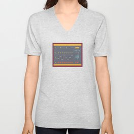 EMU SP1200 Sampler Unisex V-Neck