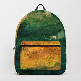 Hateful Yellow Backpack