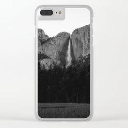 Yosemite Falls II Clear iPhone Case
