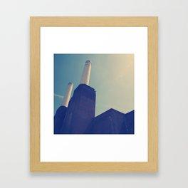Battersea Power Station 1 Framed Art Print
