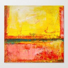 """Sunshine Landscape"" by Simon Brushfield Canvas Print"