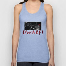 Dwarf vs. Hook Horror  Unisex Tank Top