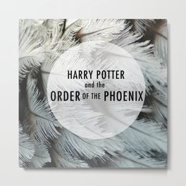 Th Order of the Phoenix Metal Print