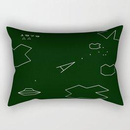 ASTEROIDS Rectangular Pillow