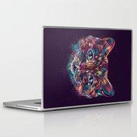 space cat Laptop & iPad Skins featuring Space Cat by dan elijah g. fajardo