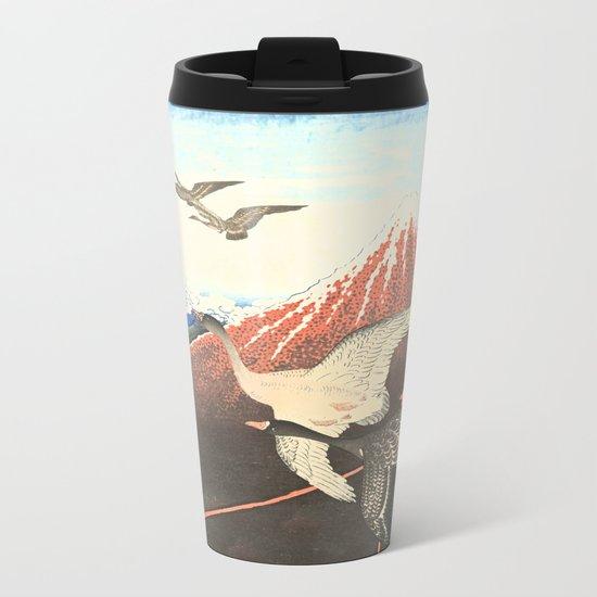 Over the mountain Metal Travel Mug