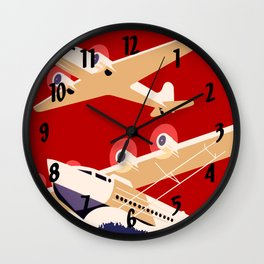 City of New York Airports Travel Wall Clock