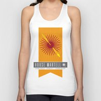 martell Tank Tops featuring House Martell Sigil V2 by P3RF3KT