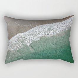 Wrightsville Beach Waves Rectangular Pillow