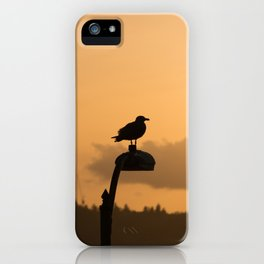 Seagull on a Lamp iPhone Case