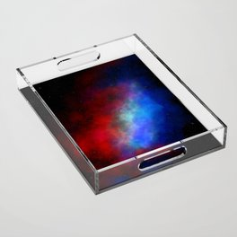 The red white & blue Acrylic Tray