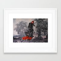 thegnarledbranch Framed Art Prints featuring Joining the Parade by TheGnarledBranch