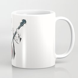 A Man Playing Banjo 2 Coffee Mug
