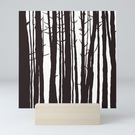 The Trees and The Forest Mini Art Print
