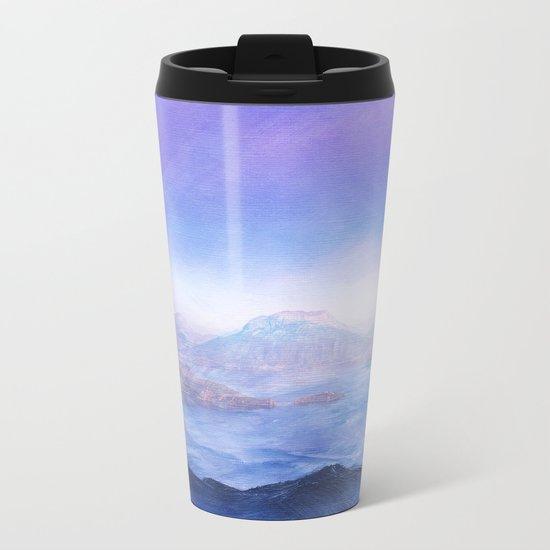 The Mountains Metal Travel Mug