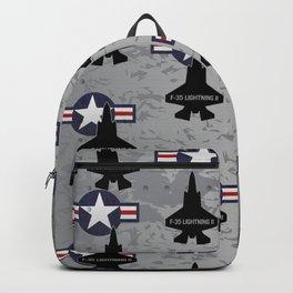 F35 Fighter Jet Airplane - F-35 Lightning II Backpack