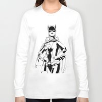 batgirl Long Sleeve T-shirts featuring Batgirl by MKilness