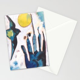 Bird and Hand Stationery Cards