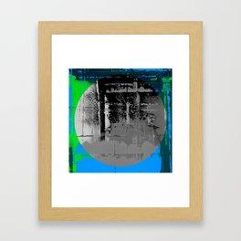 Color Chrome - B/W graphic Framed Art Print