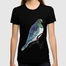 Mr Kereru, New Zealand native wood pigeon T-shirt
