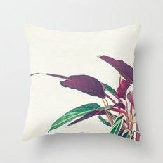 Prayer Plant II Throw Pillow