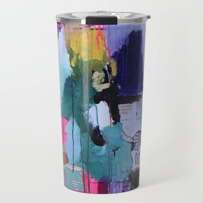 Beyond chaos & cohesion :: Tessellated Space? (2014). Travel Mug