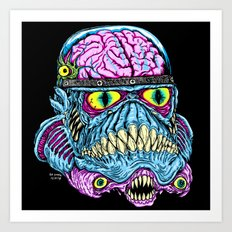 Monster Trooper Art Print