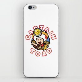 Captain Toad iPhone Skin