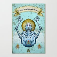 Most Holy Robot Canvas Print
