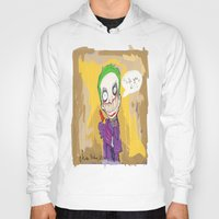 """suits Hoodies featuring The Joker"""" suits you sir """" by Funki monkey animation studio"""