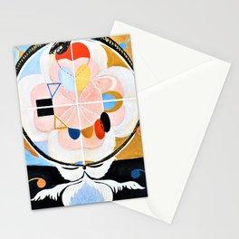 12,000pixel-500dpi - Hilma af Klint - Evolution, No. 13, Group VI - Digital Remastered Edition Stationery Cards
