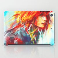 hair iPad Cases featuring Airplanes by Alice X. Zhang