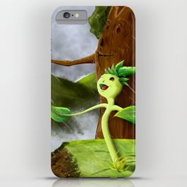 Growth of a seed iPhone Case