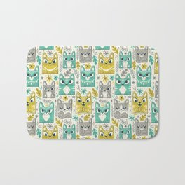 Tiki Kitty Bath Mat