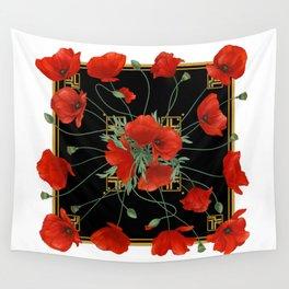 Poppy Stravaganza Wall Tapestry
