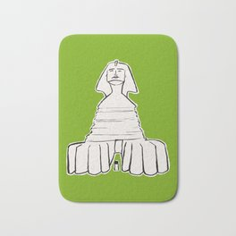 The great sphinx of Giza Bath Mat
