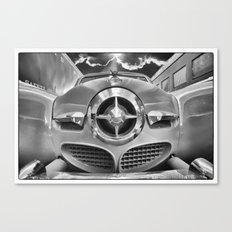 Studebaker and Trains Canvas Print