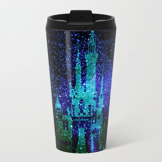 Dream castle. Fantasy Disney Metal Travel Mug