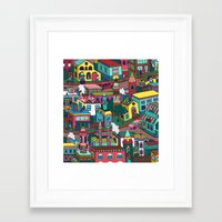good morning Framed Art Prints featuring Good Morning! by Valeriya Volkova