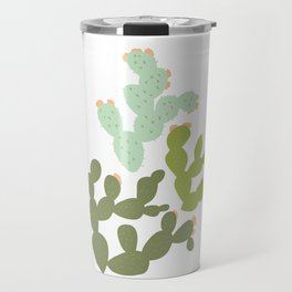 Prickly Pear Cacti Travel Mug