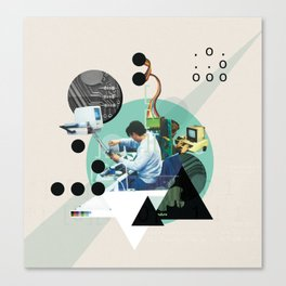Hackers Canvas Print