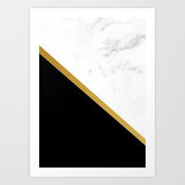 marmor Art Print