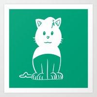 Piuley logo Art Print