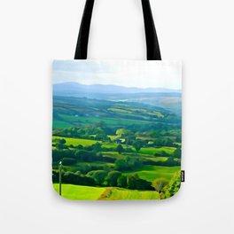 Fifty Shades of Green Tote Bag