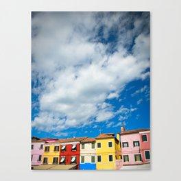 Venice Colors Canvas Print