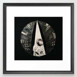 City Bound Framed Art Print