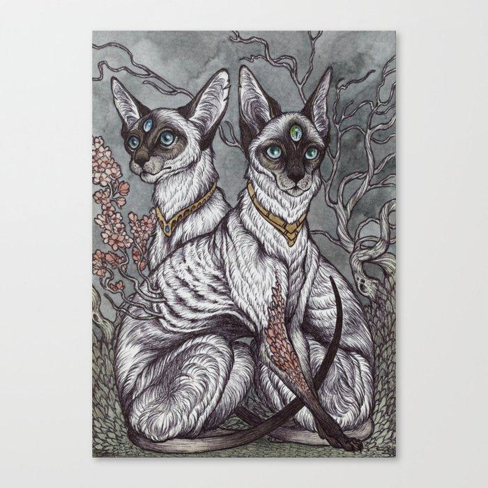 Gift of Sight art print Canvas Print