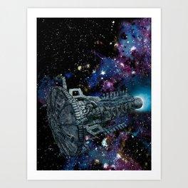 Kronos Colony Ark. view 01 Art Print