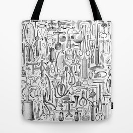 Medical Condition B&W Tote Bag